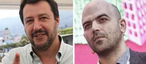 Salvini sulla maglietta rossa di Saviano e Boldrini - adessobasta.org