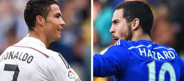Eden Hazard pourrait bien succéder à Cristiano Ronaldo à la pointe offensive du Real Madrid, si ce dernier choisissait de partir.