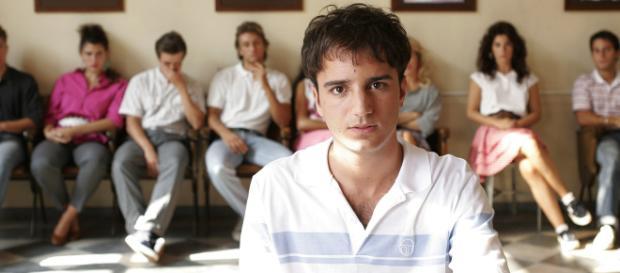 Luca Molinari (Nicolas Vaporidis) in Notte prima degli esami.