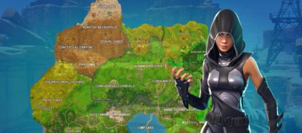 Season 5 will bring many map changes to 'Fortnite Battle Royale.' [Image Credit: Own work]