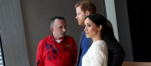 Prince Harry and Ms. Markle visit Titanic Belfast (Image courtesy – Northern Ireland Office, Wikimedia Commons)