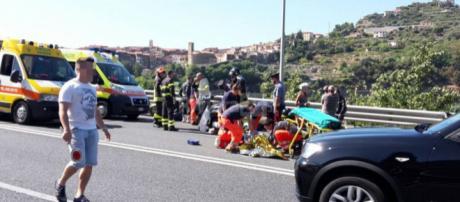 Calabria, 22enne in pericolo di vita a causa di un sinistro. (foto di repertorio)