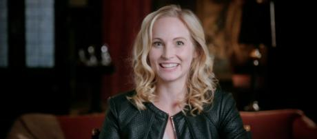 Caroline; played by Candice King. - [Jen / YouTube screencap]