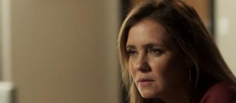 Laureta fica furiosa com Rosa, na novela Segundo Sol