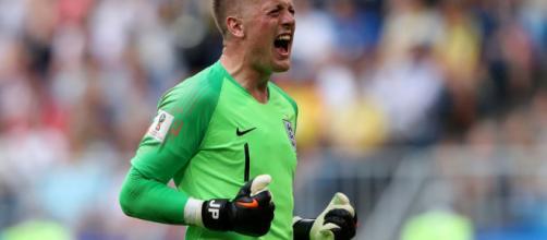 Jordan Pickford se ha convertido en una revelación para la selección inglesa