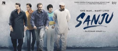 Sanju breaks records at the box-office ... (image via Rajkumar Hirani/Twitter)