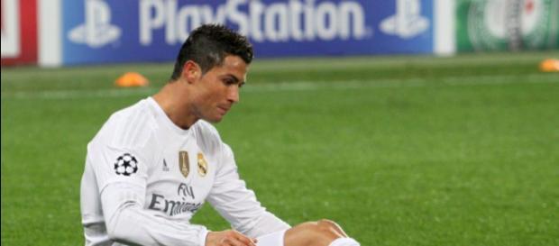 Cristiano Ronaldo con la maglia del Real Madrid