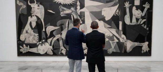Former US President Barack Obama met with Spanish PM on Friday and the king on Saturday. [Image @BsaFriend/Twitter]