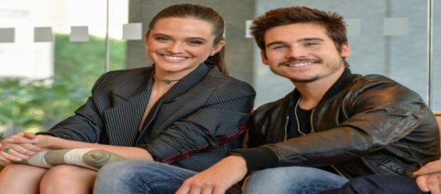 Juliana Paiva e Nicolas Prattes engatam romance. (Foto: Divulgação TV Globo)