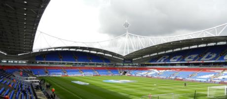 Bolton's Macron Stadium is expected to sell out for this weekend's Challenge Cup double-header. Image Source - stadiumdb.com