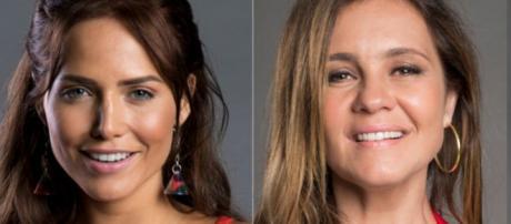 Rosa e Laureta, personagens de 'Segundo Sol'