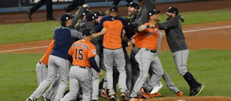 The Astros are still the favorites to win 2018 World Series, but the betting public is shifting quickly. - [USA Today Sports / YouTube screencap]