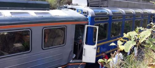 Choque de trenes en Perú deja al menos 30 heridos