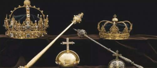 Two thieves stole priceless treasures from the Strängnäs Cathedral in Sweden. [Image Royal Wedding/YouTube]