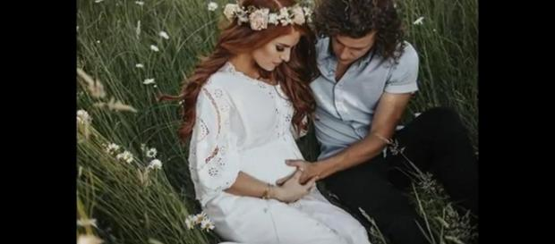 Audrey Roloff pictured with husband, Jeremy Roloff. - [USA Express / YouTube screencap]