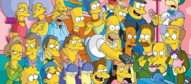 Personagens do sériado norte-americano Os Simpsons.