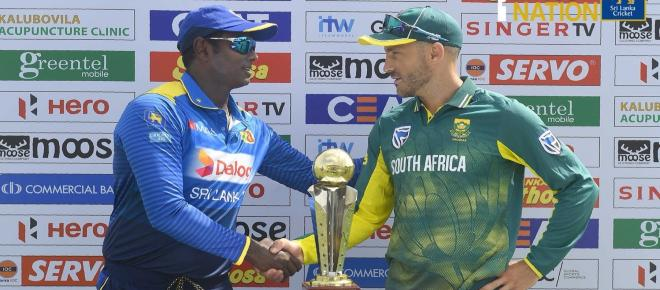 Highlights: South Africa beat Sri Lanka by 4 wickets in 2nd ODI at Dambulla