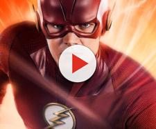 Grant Gustin revealed the new Flash costume for Season 5 - [Emergency Awesome / YouTube screencap]