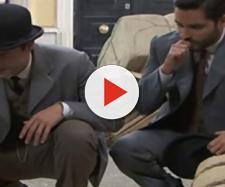 Una Vita, puntate italiane: Simon e Victor trovano il cadavere di una donna
