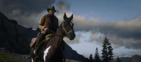Players will assume the role of Arthur Morgan in 'Red Dead Redemption 2' [Image Credit: Rockstar Games/YouTube screencap]