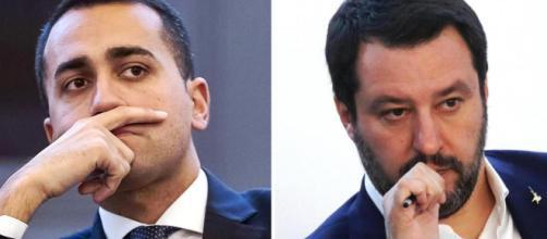 Di Maio e Salvini pensierosi ma sicuri:gli 80 euro non si toccano come anche l'Iva
