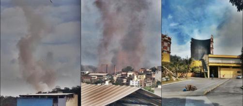 Explosão na Usiminas assusta Ipatinga