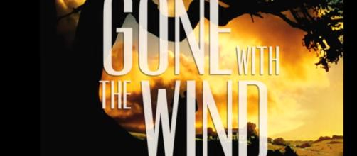 Gone With The Wind, the book, tends to favor violence against women. [image source: BFITrailers -YouTube]