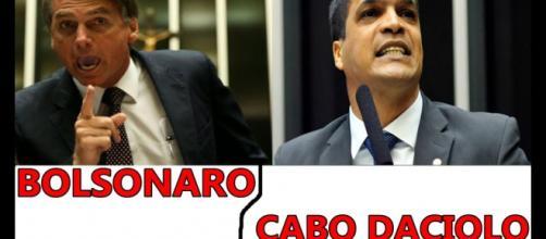 Jair Bolsonaro e Cabo Daciolo foram os mais buscados no Google no último bloco segundo a revista Fórum, pelo Google Trends - Youtube/Divulgação