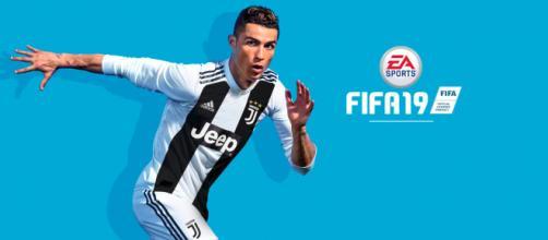 La nuova copertina del gioco FIFA19