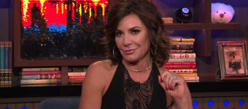LuAnn de Lesseps appears on 'Watch What Happens Live.' [Image Source: Bravo - YouTube]