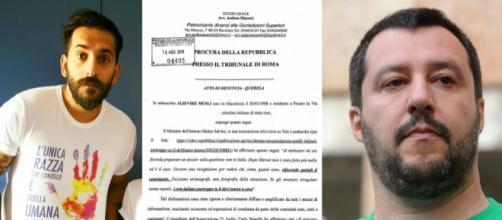 Matteo Salvini querelato dall'attivista rom Alievski Musli