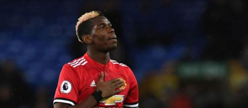 Paul Pogba, autore del vantaggio del Manchester United