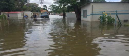 VENEZUELA/ Inundaciones por temporada de lluvias deja a varias familias damnificadas