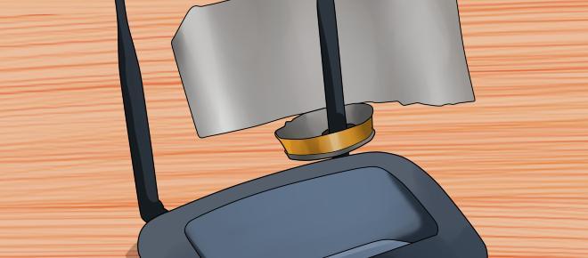 Estudo da Darthmouth, nos EUA, afirma que papel alumínio melhora o funcionamento do Wi-Fi
