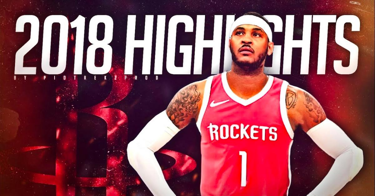 662a02cc8487 Carmelo Anthony officially signs with the Houston Rockets on a one-year