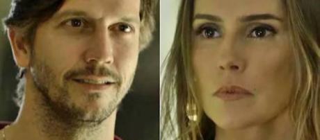 Remy e Karola em 'Segundo Sol'
