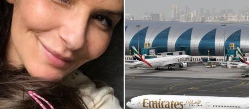 Dubai, donna finisce in carcere per aver bevuto vito in aereo.