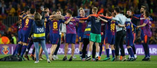 FC Barcelona 2018-19 temporada con los mejores jugadores de La Liga