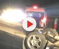 A Nettuno un padre guida ubriaco e senza patente, l'auto si ribalta: muore sul colpo la figlia di otto anni.
