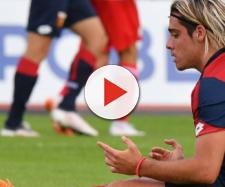 L'attaccante del Genoa, Claudio Spinelli