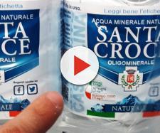Richiamo acqua Santa Croce: lotto di bottiglie pericoloso per la salute