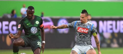 Wolfsburg-Napoli: 3-1 per i tedeschi