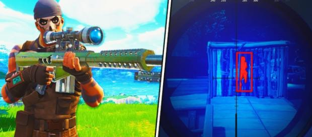 Heavy Sniper is coming to 'Fortnite' during 5.20 content update. - [GhostNinja / YouTube screencap]