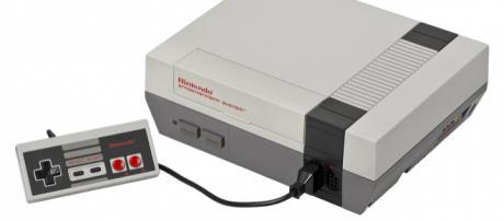 NES console set. [Image Source: Evan-Amos - Wikimedia Commons]