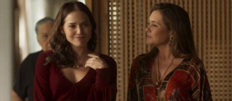 Rosa se surpreende com descoberta de Laureta