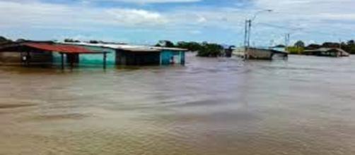 Siete estados de Venezuela inundados por desbordamiento de los rios Orinoco y Caroni