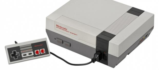 NES console set. [Image Source: Evan-Amos - Wikimedia Commons]