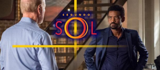 Pai será motorista do filho, na novela Segundo Sol