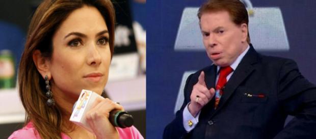 Patricia e Silvio Santos (Foto - SBT)