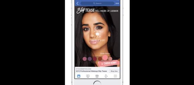 L'Oreal y Facebook llevarán la realidad aumentada al público con fines comerciales